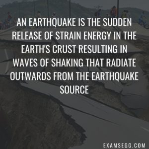earthquake facts and information