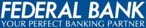 Federal Bank Symbol with Tag Line